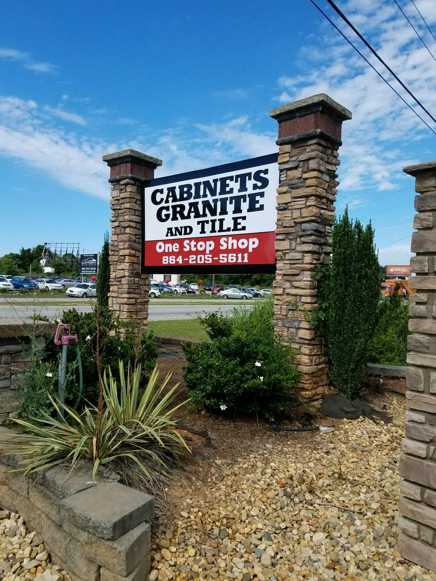 Premier Granite Spartanburg Showroom Sign