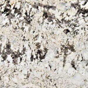 Alaska White Granite Countertop Sample Color