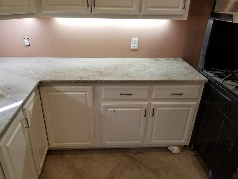 Astoria granite kitchen counter install