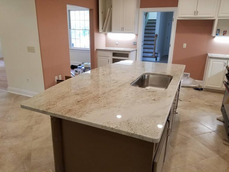 Astoria granite kitchen island countertop