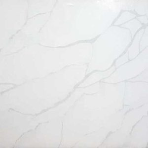 Calacatta Sponda Quartz countertop slab color sample