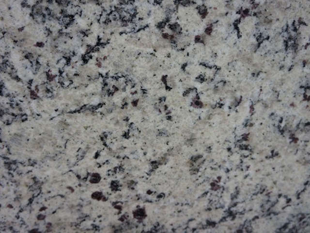 Dallas White Granite countertop slab color sample