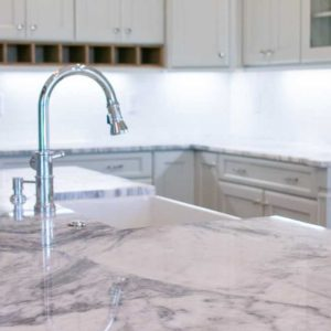 Mont Blanc Marble kitchen countertops