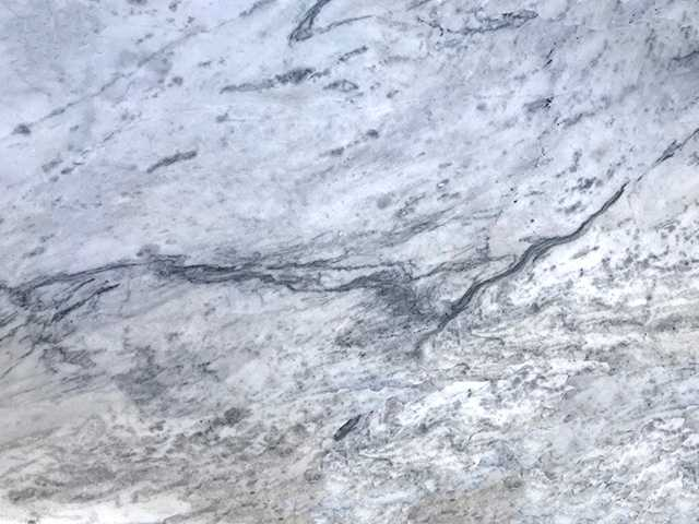 Mont Blanc Marble countertop slab color sample