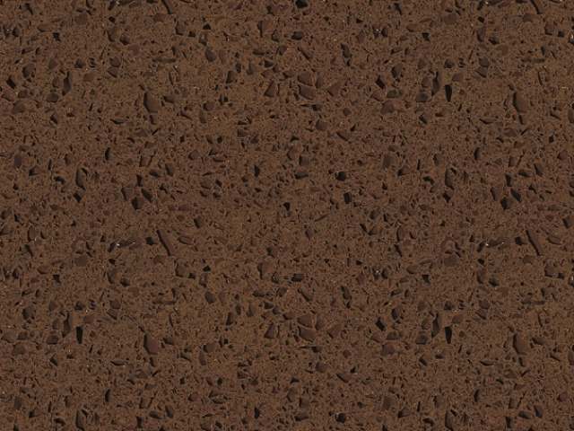 Espresso Quartz countertop slab color sample