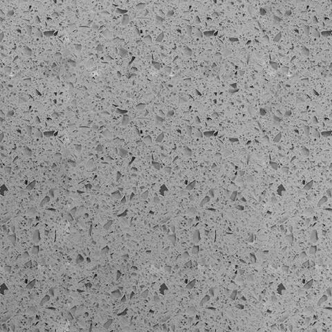 Grey Galaxy Quartz countertop slab color sample