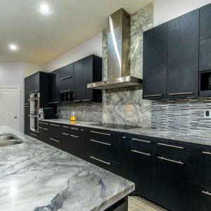 Super White Marble kitchen countertops