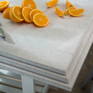 Lusso Quartz Kitchen Island Countertops