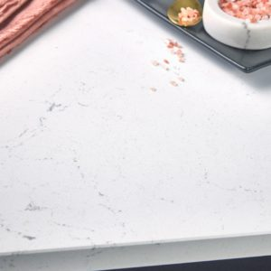 Smithfield quartz kitchen countertop closeup