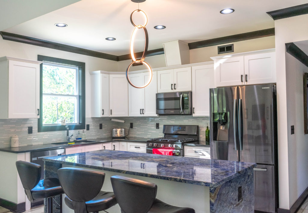 With all of its natural beauty, it is not difficult to see why blue granite countertops are a favorite of many. If you are interested in incorporating it into your home, contact us for a free estimate on our website or by phone at (864) 633-2366.